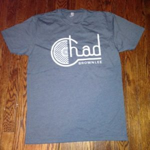 "Chad Brownlee ""Record"" Tee"