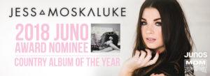 Jess Moskaluke Juno Nominee